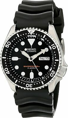 $ CDN605.36 • Buy Seiko SKX007J1 Analog Japanese-Automatic Black Rubber Diver's Watch From Japan