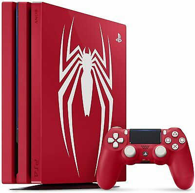 AU1526.93 • Buy PlayStation 4 Pro 1TB Limited Edition Console Marvel's Spider-Man Bundle PS4 New