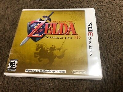 AU24.25 • Buy The Legend Of Zelda: Ocarina Of Time 3D (3DS, 2011) Authentic