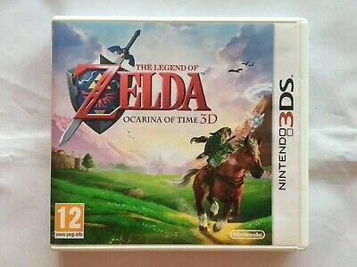 AU5.76 • Buy Nintendo 3DS 2DS Console Game The Legend Of Zelda Ocarina Of Time 3D Complete