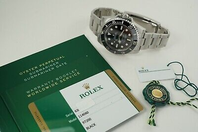 $ CDN15467.67 • Buy ROLEX 114060 SUBMARINER CERAMIC W/ BOX, CARD & TAGS STAINLESS STEEL 40 MM C.2017