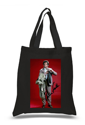 £6.49 • Buy Shopper Tote Bag Cotton Black Cool Icon Star Columbo Dolly Ideal Gift Present