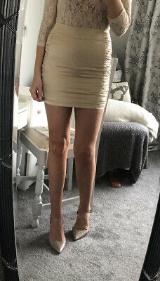 £6 • Buy I Saw It First Satin Style Ruched Mini Skirt UK 6
