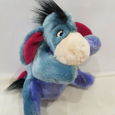 New Pooh - Eeyore From Winnie The Pooh Hand Puppet Soft Toy - Disney Store . • 15.29£