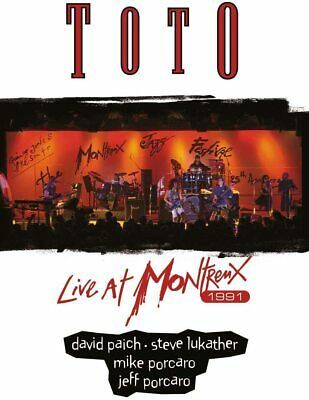 £10.50 • Buy Toto Live At Montreux 1991 Dvd New Sealed Rosanna Africa I'll Be Over You
