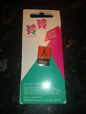 £6 • Buy 2012 London Olympic/Paralympic Games Triathlon Pin Badge Official Merchandise