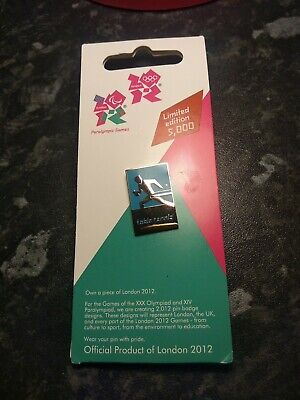 £6 • Buy 2012 London Olympic/Paralympic Games Table Tennis Pin Badge Official Merchandise