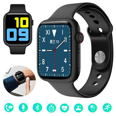 AU49.69 • Buy Heart Rate Monitor Smart Watch Bluetooth 5.0 HD Call For Android IPhone Samsung