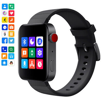 AU32.72 • Buy 2021 Smart Watch 1.54 Inch Touch Screen Bluetooth Call Message For IOS Android