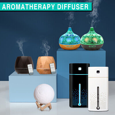 AU22.49 • Buy Aromatherapy Aroma Diffuser LED Essential Oil Ultrasonic Air Humidifier Purifier