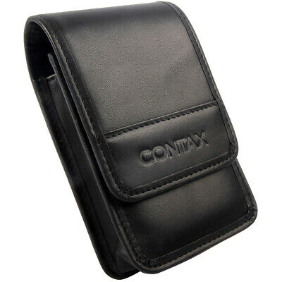 $ CDN27.10 • Buy Leather Camera Bag Case Pouch Protective Black For Contax TVS3 TVS2 TVS1 T2 T3