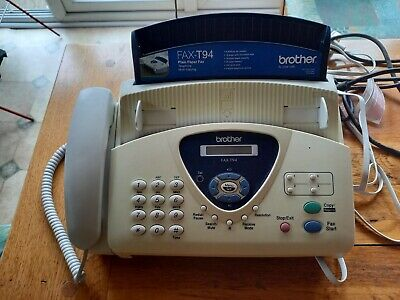 Brother FAX-T94, Plain Paper Fax, Telephone And Copier • 7.50£