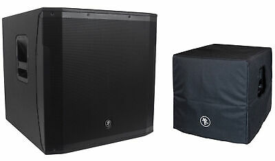 $1087.98 • Buy New! Mackie SRM1850 1600W 18  Powered Pro Subwoofer Sub+Dust Cover/Travel Sleeve