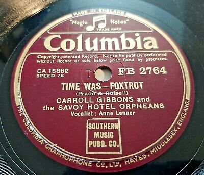 78rpm: Carroll Gibbons & The Savoy Hotel Orpheans – Elmer's Tune -1942 VG+ • 8£