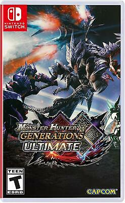 AU44.21 • Buy Monster Hunter Generations Ultimate Nintendo Switch Game (#)