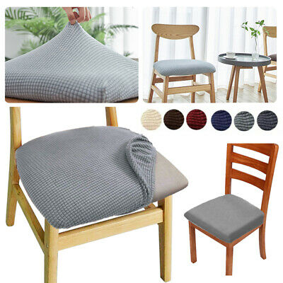 £3.58 • Buy 6PCS Spandex Dining Room Chair Cushion Covers Slip Seat Cover Stretch Removable
