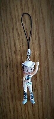 £3.49 • Buy  Betty Boop Cowgirl - Vintage 1980s Charm Pendant For Your Bag / Phone Etc