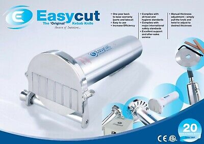 New Commercial Easycut Metal Doner Kebab Slicer*Cutter*Knife + All Accessories  • 184£
