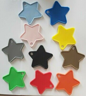 £3.99 • Buy Plastic Star Shaped Balloon Weights 1 - 100 Amounts  - 12 Colours To Choose From