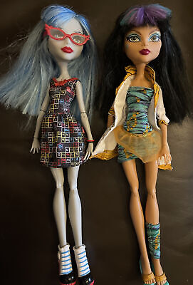 £19.95 • Buy Monster High - Mad Science Two Pack - Cleo And Ghoulia Dolls Mattel Figures