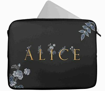 £15.99 • Buy Personalised Any Name Abstract Design Laptop Case Sleeve Tablet Bag 6