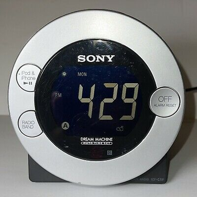 AU31.49 • Buy Sony Dream Machine Dual Alarm Clock Radio ICF-C7iP 30 Pin IPod/iPhone Dock