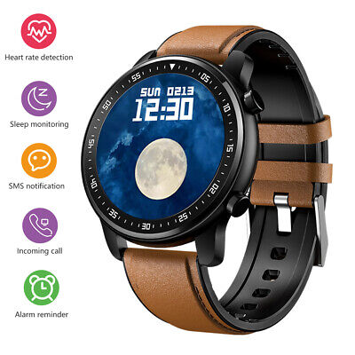 AU67.87 • Buy Men Smart Watch Bluetooth Notification Heart Rate Monitor For Android IOS IPhone