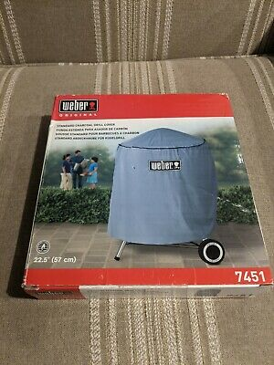 $ CDN12.52 • Buy Weber Charcoal Grill Cover 7451 Standard Kettle 22.5  (57cm) Gray 34 X30