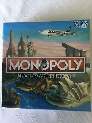 AU20.50 • Buy NEW & SEALED Monopoly Singapore Airlines Edition Travel Size