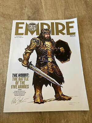 £5.99 • Buy EMPIRE MAGAZINE # 307 January 2015 The Hobbit Limited Edition Subscriber Cover