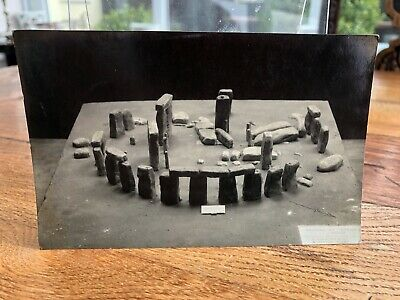 Early 1900s Postcard . Model Of Stonehenge  • 4.99£