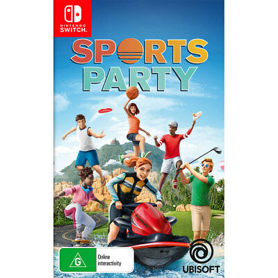 AU19 • Buy Sports Party - Nintendo Switch - BRAND NEW
