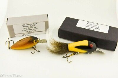 $ CDN9.53 • Buy Contemporary Wesley Syfrett Florida Minnow Fishing Lure Lot Of 2 In Boxes LC16