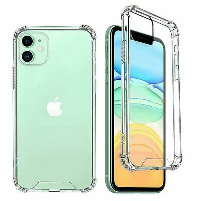AU4.27 • Buy For IPhone 12 11 Pro XR Xs Max 8 7 Plus 6s Case Hybrid Acrylic CLEAR Hard Cover