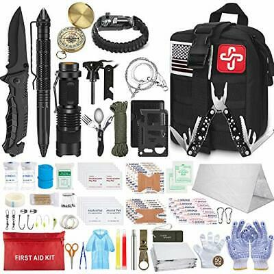 $63.40 • Buy Survival Molle First Aid Kit Emergency Gear Military Trauma Bag Professional 152
