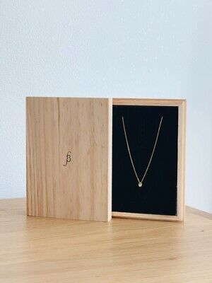 AU250 • Buy Sarah And Sebastian Gold Necklace Orbit Pearl RRP $400 Designer