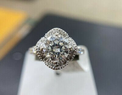 AU16500 • Buy 1.50 TCW Diamond Ring With GIA Certificate H VS2