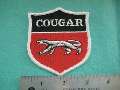 Vintage Early Ford  Mercury Cougar XR7 Racing Patch • 6.55£