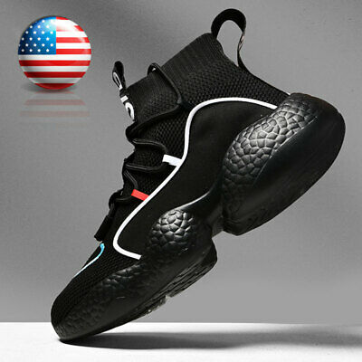 $31.99 • Buy Men's Athletic Fashion Running Sneakers Breathable Sports Tennis High Top Shoes