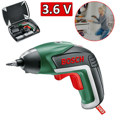 View Details Bosch IXO Electric Cordless Screwdriver 3.6V Lithium-Ion Battery Inc Case & Bits • 37.49£