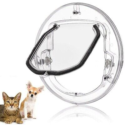 £35.99 • Buy TOPINCN Pet Door Cages For Glass Window Door With Flap For All Cats And Small...