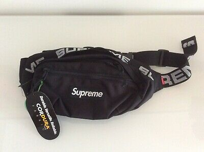 $ CDN544.49 • Buy SUPREME SS18 Waist Bag Black New With Verified Stock X Authentic Tag