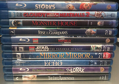 $ CDN12.53 • Buy Lot Of 10 Family Blu-Rays Like New (No Scratches) #1