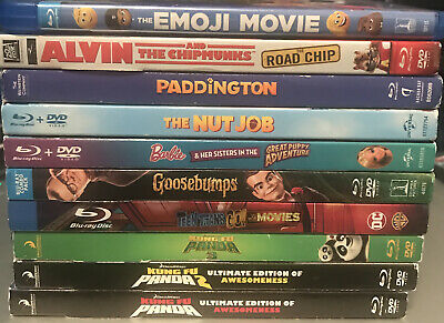 $ CDN13.79 • Buy Lot Of 10 Family Blu-Rays Like New (No Scratches) #2