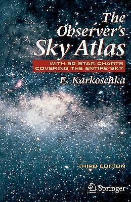 The Observer's Sky Atlas: With 50 Star Charts Covering The Entire Sky By... • 12£