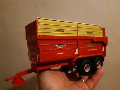 £40 • Buy Rare Britains Conversion Herron H2 Silage Trailer  For Tractor Siku