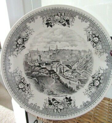£5.50 • Buy Vintage Villeroy & Boch China  Luxembourg In 1835  26 Cm Decorative Plate