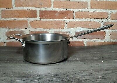 $ CDN87.47 • Buy All-Clad BD55203 D5 Brushed Stainless Steel  3-Qt Saucepan No Lid