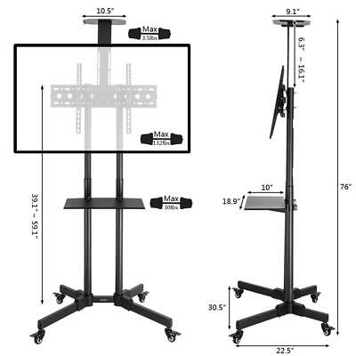 Mobile Tv Stand 10 0 Dealsan