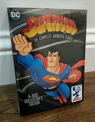£24.81 • Buy Superman: The Complete Animated Series (DVD, 6-Disc Set,Collector's Edition) NEW